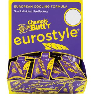 Chamois Butt'r Eurostyle 0.3oz Packet POP Box of 75