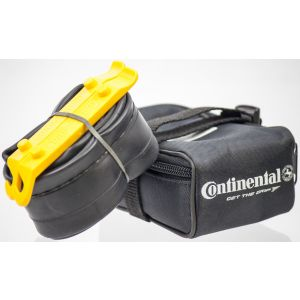 Continental MTB Saddle Pack Bag w/ 26'' Presta Tube and Levers