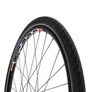 Schwalbe Marathon Plus Tire 26x1.5 Wire Bead Black with Reflective Sidewall and