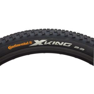 Continental X-King Tire 27.5x2.2 ProTection Folding Bead with Black Chili