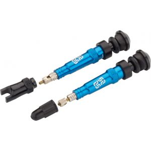 e*thirteen High Volume Aluminum Tubeless Valves 40mm Blue