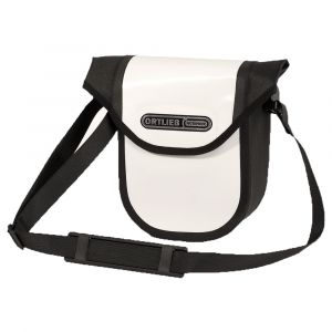 Ortlieb Ultimate 6 Compact Handlebar Bag: White/Black