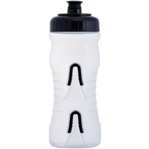Fabric Cageless Water Bottle: 600ml Clear/Black