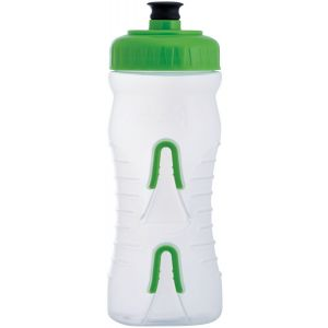 Fabric Cageless Water Bottle: 600ml Clear/Green