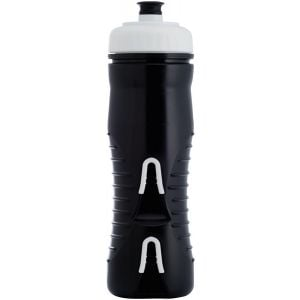 Fabric Cageless Insulated Water Bottle: 525ml Black