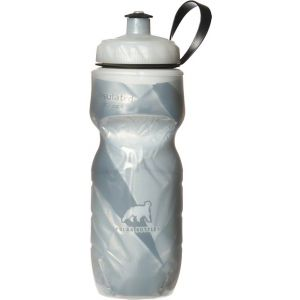 Polar Insulated Pattern Water Bottle: 20oz White