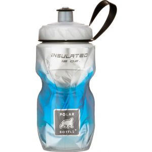 Polar Insulated Water Bottle: 12oz BlueFade