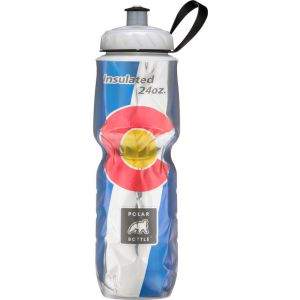 Polar Insulated Water Bottle: 24oz Colorado State Flag