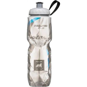 Polar Insulated Water Bottle: 24oz Blue Carbon