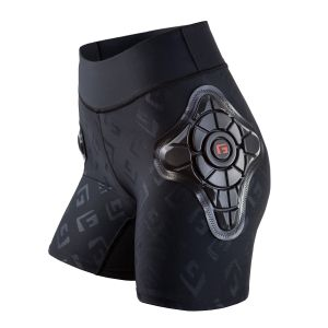 G-Form Pro-X Women's Short-Blk/Blk- EmbosG-XL