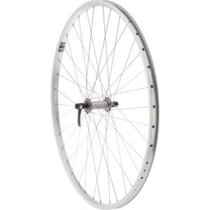 Quality Wheels Value XL Front Wheel 700c Shimano Hub / Velocity NoBS Rim Raw