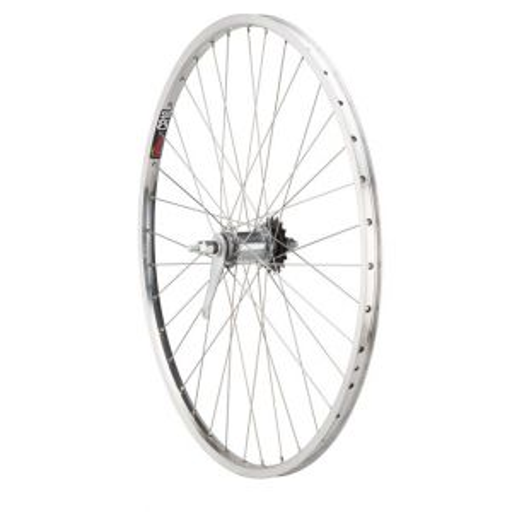 Quality Wheels Value Rim Rear Wheel 124mm Coaster Brake Shimano Silver / Sun