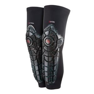 G-Form Youth Elite Knee-Shin Guard - S/M - Teal Topo