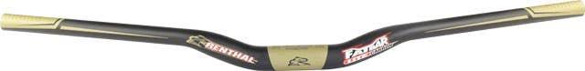 New Renthal FatBar Lite Carbon Handlebar  10mm Rise 740mm Width 31.8mm Carbon