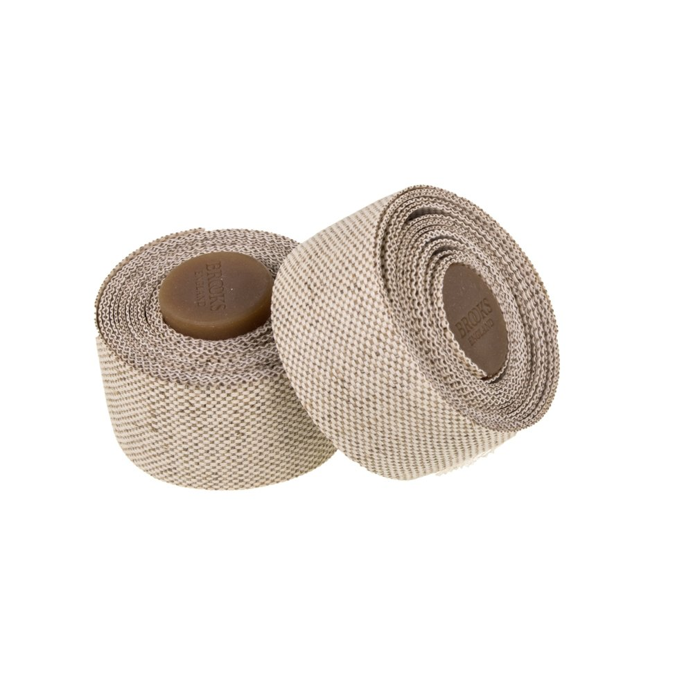 New Brooks Cambium Bar Tape /& Plugs Natural Bike Handlebar Tape