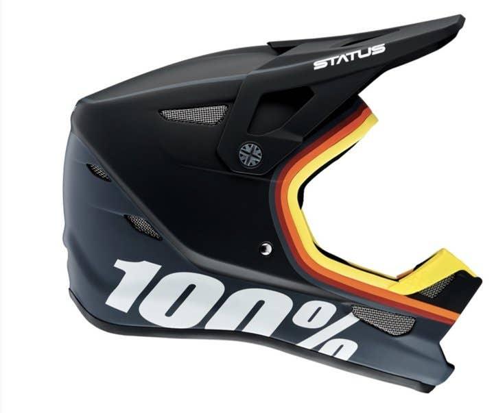 Estado 100% casco de cara completa  Kramer Xl