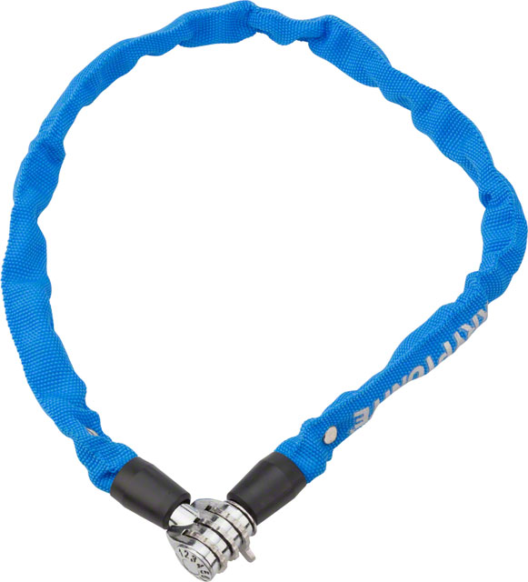 2.13' x 6mm Blue Sporting Goods Kryptonite Keeper 665 Cable Lock with 3-Digit Combo