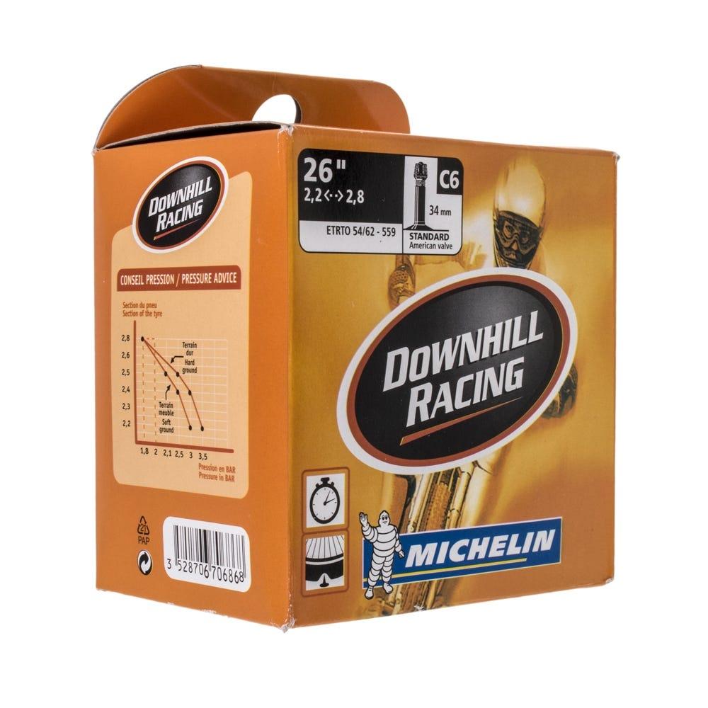Michelin AirComp DH Tube 26x2.2-2.8 Schrader Valve