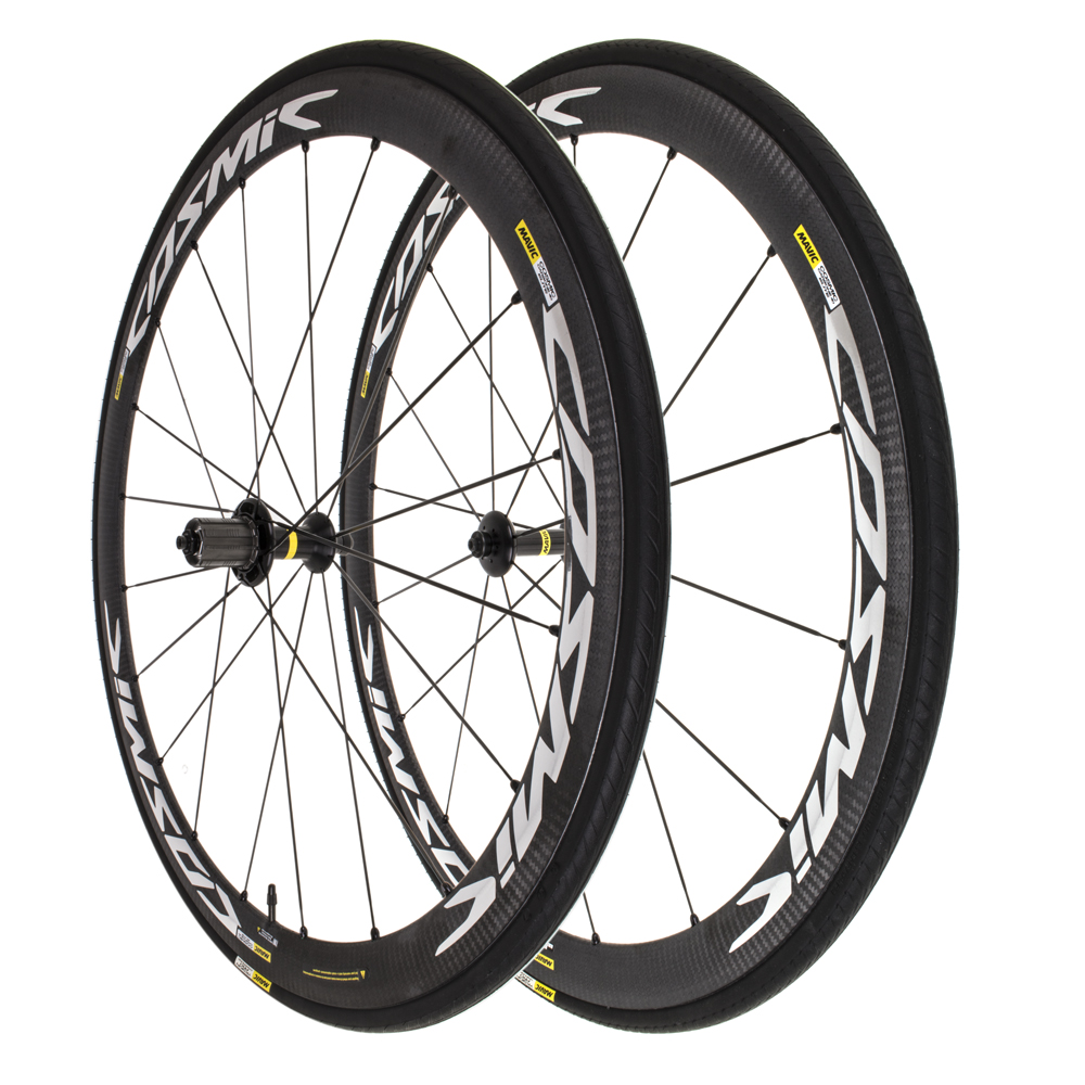 b58781de4e1 Mavic Cosmic Carbone 40 Elite + Yksion Tire Road 700C Clincher Wheelset