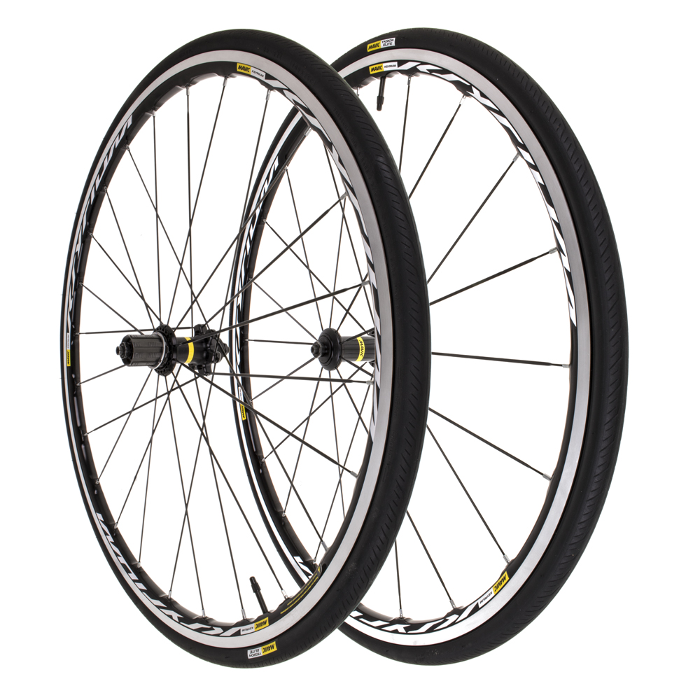 New Mavic Ksyrium 700C 10 11 speed Wheelset w Yksion Elite Guard 25 Tires