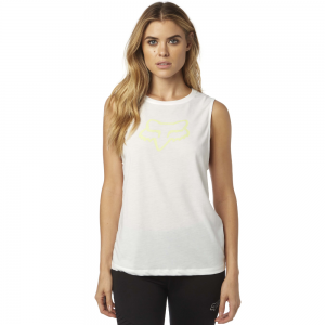 Fox Racing Enduro Women's Muscle Tank White