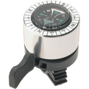 Dimension Compass Bell Silver/Black