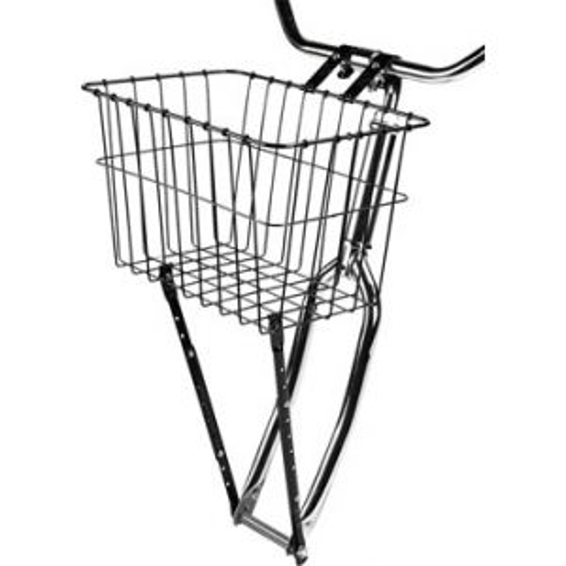 Wald 198 Front Basket with Adjustable Leg Gloss Black