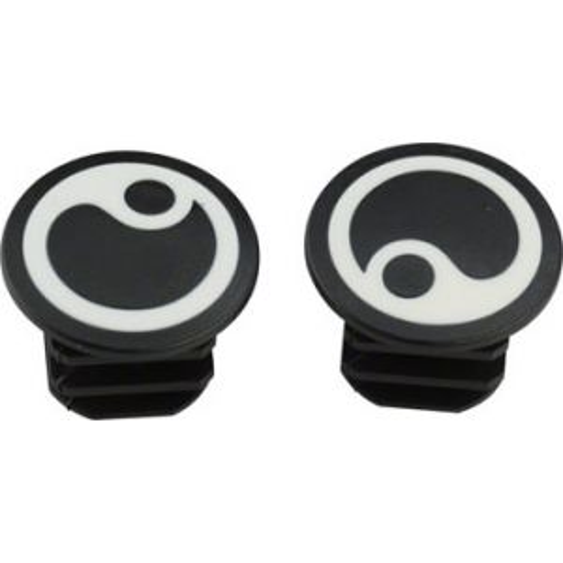 Ergon GP1 White Logo Bar Plugs
