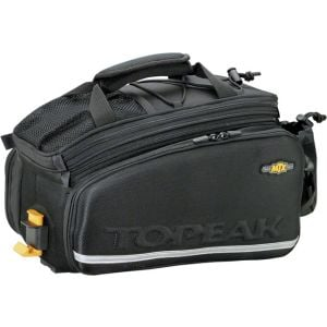 Topeak MTX TrunkBag DXP Rack Bag with Expandable Panniers: 22.6 Liter Black