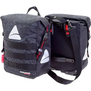 Axiom Monsoon Hydracore 45+ Panniers: Gray