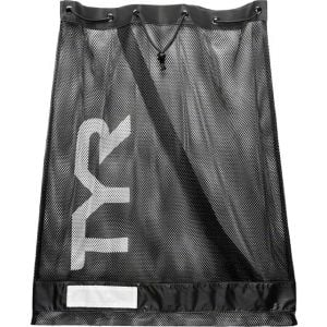TYR Mesh Equipment Bag: Black