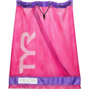 TYR Mesh Equipment Bag: Pink/Purple