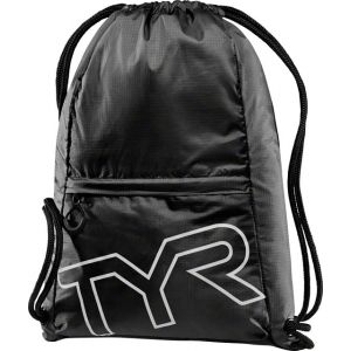 TYR Drawstring Sack Pack Black