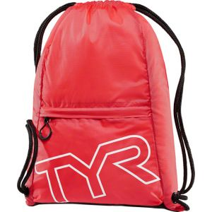 TYR Drawstring Sack Pack Red