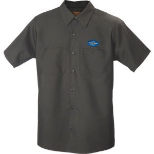 Park Tool MS-1.2 Mechanic Shirt Med Charcoal