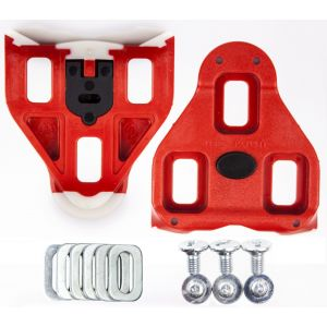 Look Delta Cleats Red 9° Float