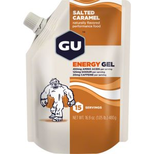 GU Energy Gel: Salted Caramel 15 Serving Pouch