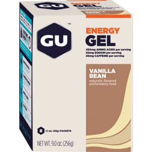 GU Energy Gel: Vanilla Box of 8