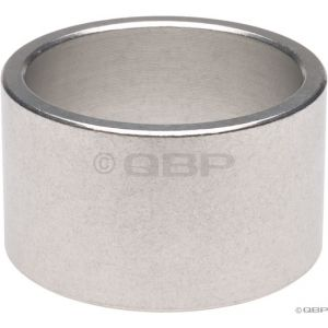 Wheels Manufacturing 20mm 1-1/8 Headset Spacer Silver Each