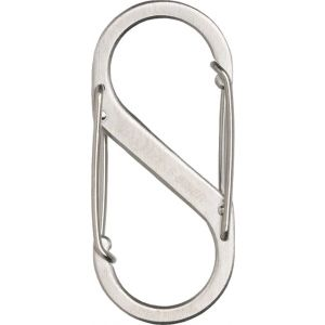 Nite Ize S-Biner #2 Stainless Steel Carabiner: Each~ Stainless