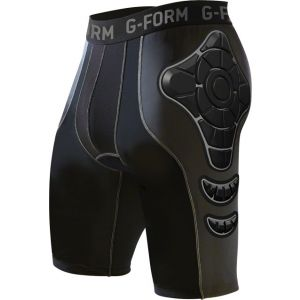 G-Form Pro-B Compression Shorts with Chamois: Charcoal MD
