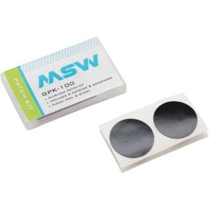 MSW GPK-100 Glueless Patch Kit Includes 6 Self-Adhesive Patches and