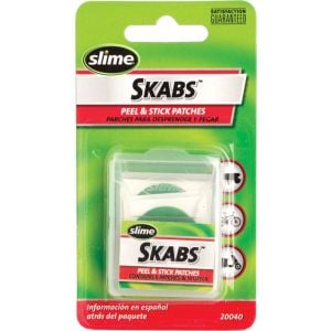 Slime Skabs Glueless Patch Kit 6-Pack
