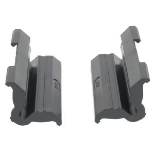 Park Tool 468G Rubber Clamp Cover with Double Cable Grooves: Pair