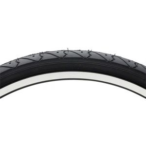Vee Rubber Smooth Tread Mountain Tire: 26x 1.5 Steel Bead Black