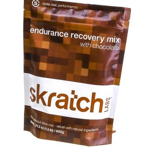 values - Skratch Labs Endurance Recovery Mix, Chocolate, 600g Resealable Bag