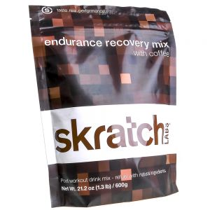 values - Skratch Labs Endurance Recovery Mix, Coffee, 600g Resealable Bag